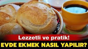 evde ekmek tarifi