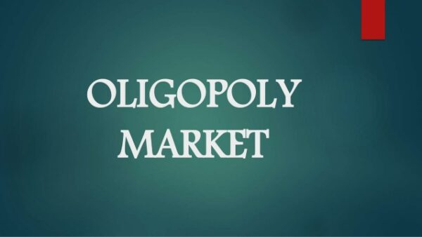 Oligopol Piyasası Nedir