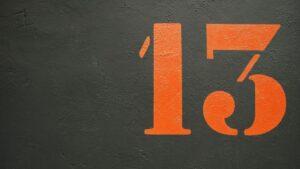 13 Sayısı Neden Uğursuz